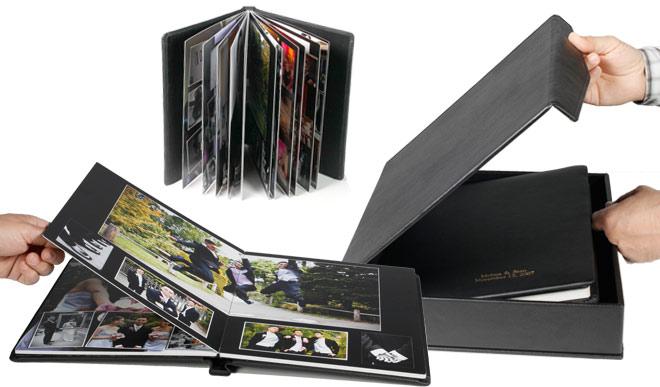 Advanced Photo Lab StandardFlush mount albums Laminated photo